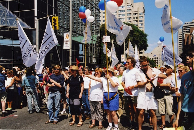ETFO Rally from 2001