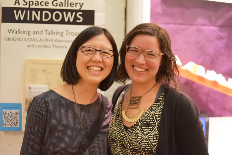 Emily Chan and Maria Hupfield