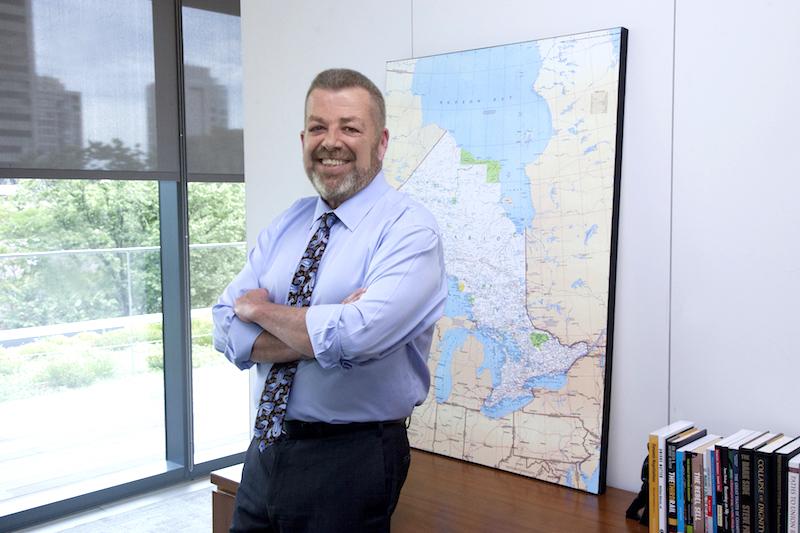 ETFO President Sam Hammond