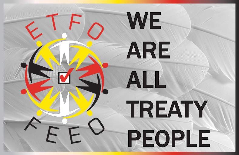 ETFO We Are All Treaty People Logo