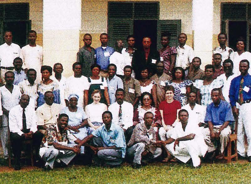 Carla Abrams, Ghana 2001