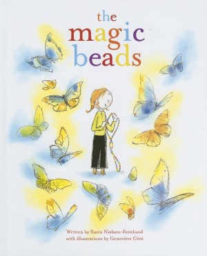 Book cover of The Magic Beads