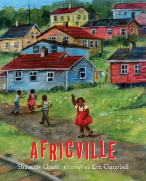 Image of the book cover of Africville
