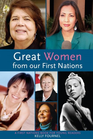 Book cover of Great Women from our First Nations