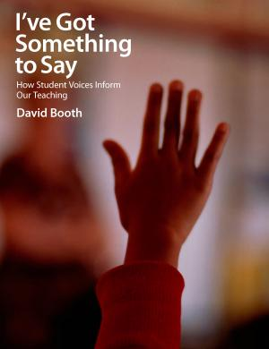 Cover of I've Got Something to Say by David Booth