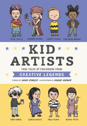 book cover of Kid Artists
