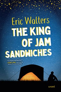 Book cover for The King of Jam Sandwiches
