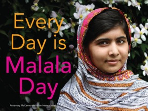 Book cover for Every Day is Malala Day