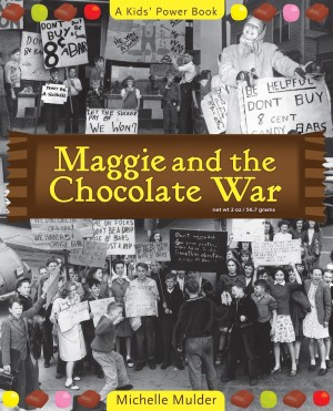 Cover of Maggie and the Chocolate War