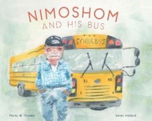 book cover for nimoshom and his bus