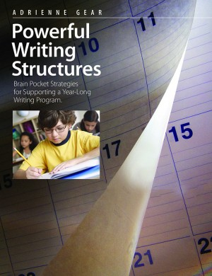 Book cover of Powerful Writing Structures