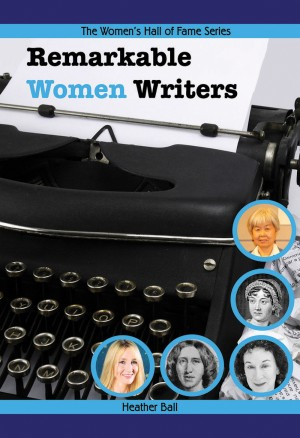 Book cover for Remarkable Women Writers