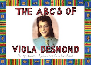 Cover of The ABC's of Viola Desmond