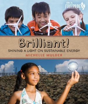 Cover of Brilliant! Shining a Light on Sustainable Energy