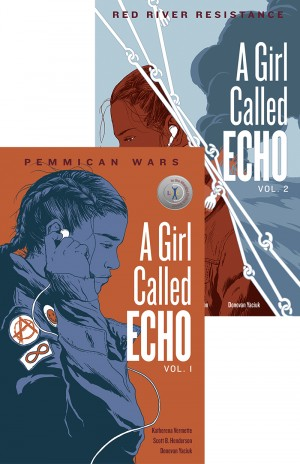 Cover of A Girl Called Echo vol. 1 and 2