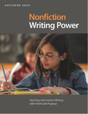 Cover of book Nonfiction Writing Power
