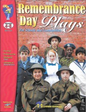 Book Cover of Remembrance Day Plays