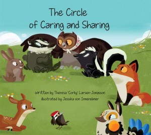 Book cover of The Sharing Circle