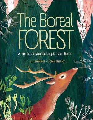 Book cover of The Boreal Forest