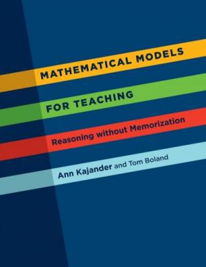 Cover of Mathematical Models for Teaching