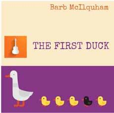 Book cover of The First Duck