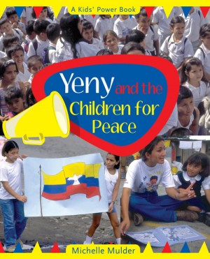 Book cover for Yeny and the Children for Peace