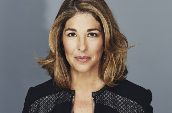portrait of author and activist Naomi Klein