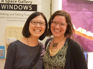 Emily Chan and Maria Hupfield