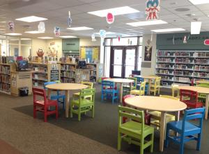picture of a school library