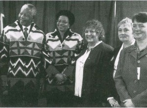 mandela standing with others