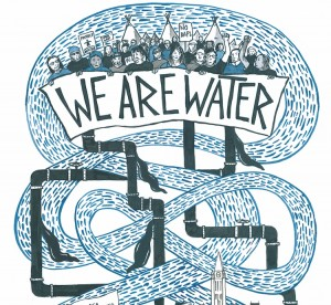 we are water illustration