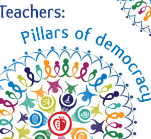 Cover for Teachers: Pillars of Democracy: World Teachers