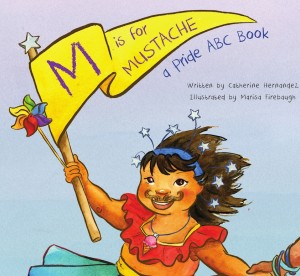 Book cover for M is for Mustache