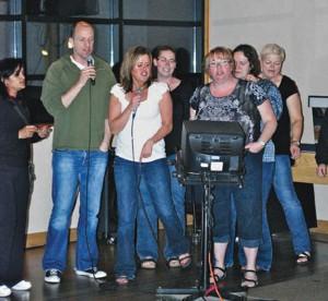 etfo members singing karaoke