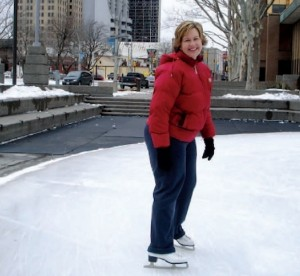 ETFO member ice skating