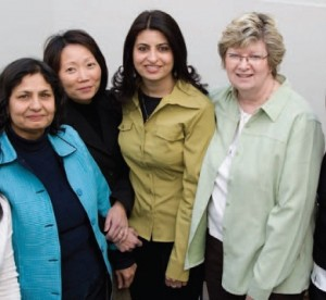 Woman ETFO members posing together