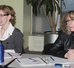etfo members sitting in boardroom