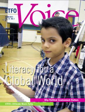 Cover of ETFO Voice Spring 2011