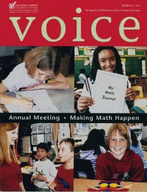 Cover of ETFO Voice Fall 2004