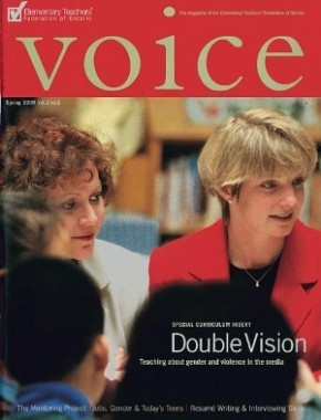 Cover of ETFO Voice Spring 2000