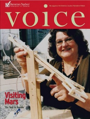 Cover of ETFO Voice Summer 2003
