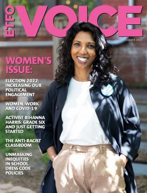 Cover of ETFO Voice Summer 2021
