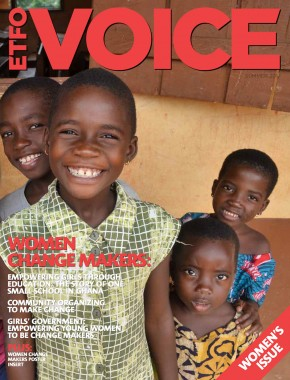 cover of ETFO Voice Summer 2017