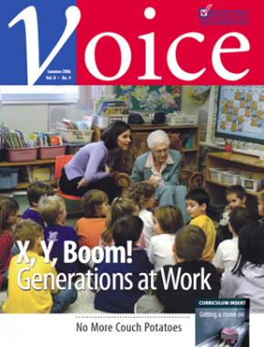 Cover of ETFO Voice Summer 2006