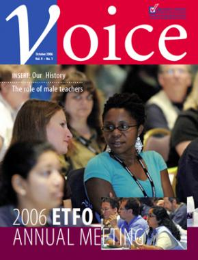 Cover of ETFO Voice Fall 2006