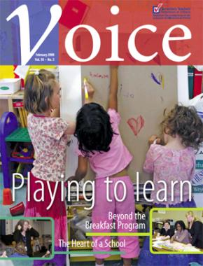 Cover of ETFO Voice February 2006