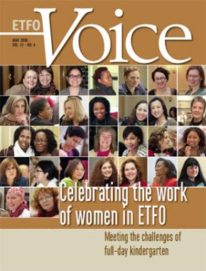 Cover of ETFO Voice May 2010