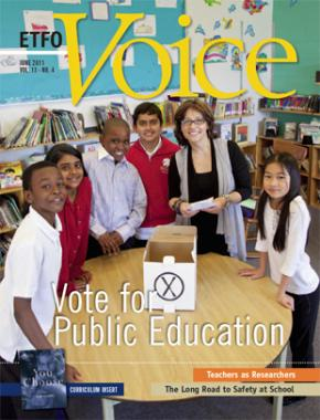 Cover of ETFO Voice June 2011