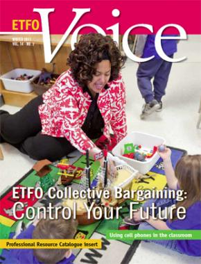Cover of ETFO Voice Winter 2011