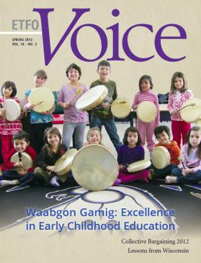 Cover of ETFO Voice Spring 2012